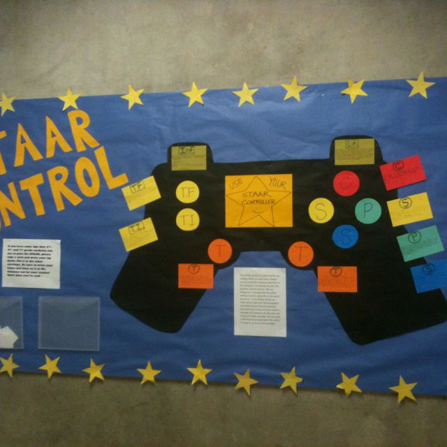 Look At This Fantastic STAAR Control Bulletin Board That