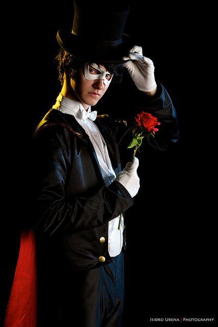 Tuxedo Mask from Sailor Moon #anime #cosplay