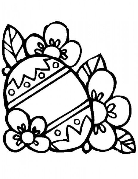 Easter Egg Design Coloring Pages 21