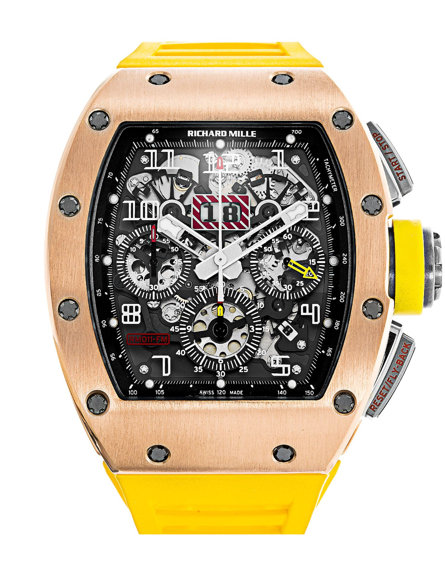 4a7ce206d79 Richard Mille RM011 AK RG Felipe Massa Watch