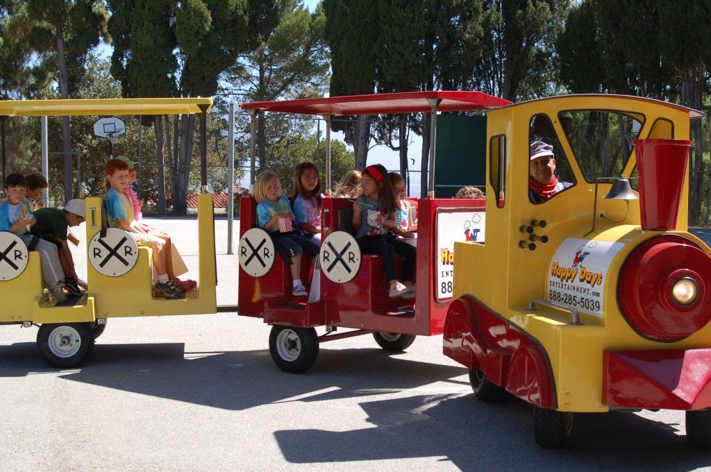 Image result for trackless train rental