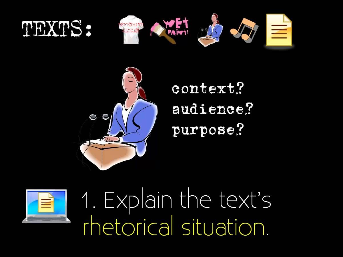 Video What Is A Rhetorical Analysis  FirstYear Composition