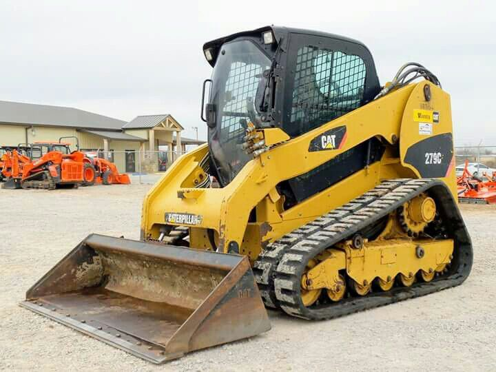 Cat 279c Skid Steer Construction Vehicles Heavy Construction Equipment Construction Equipment