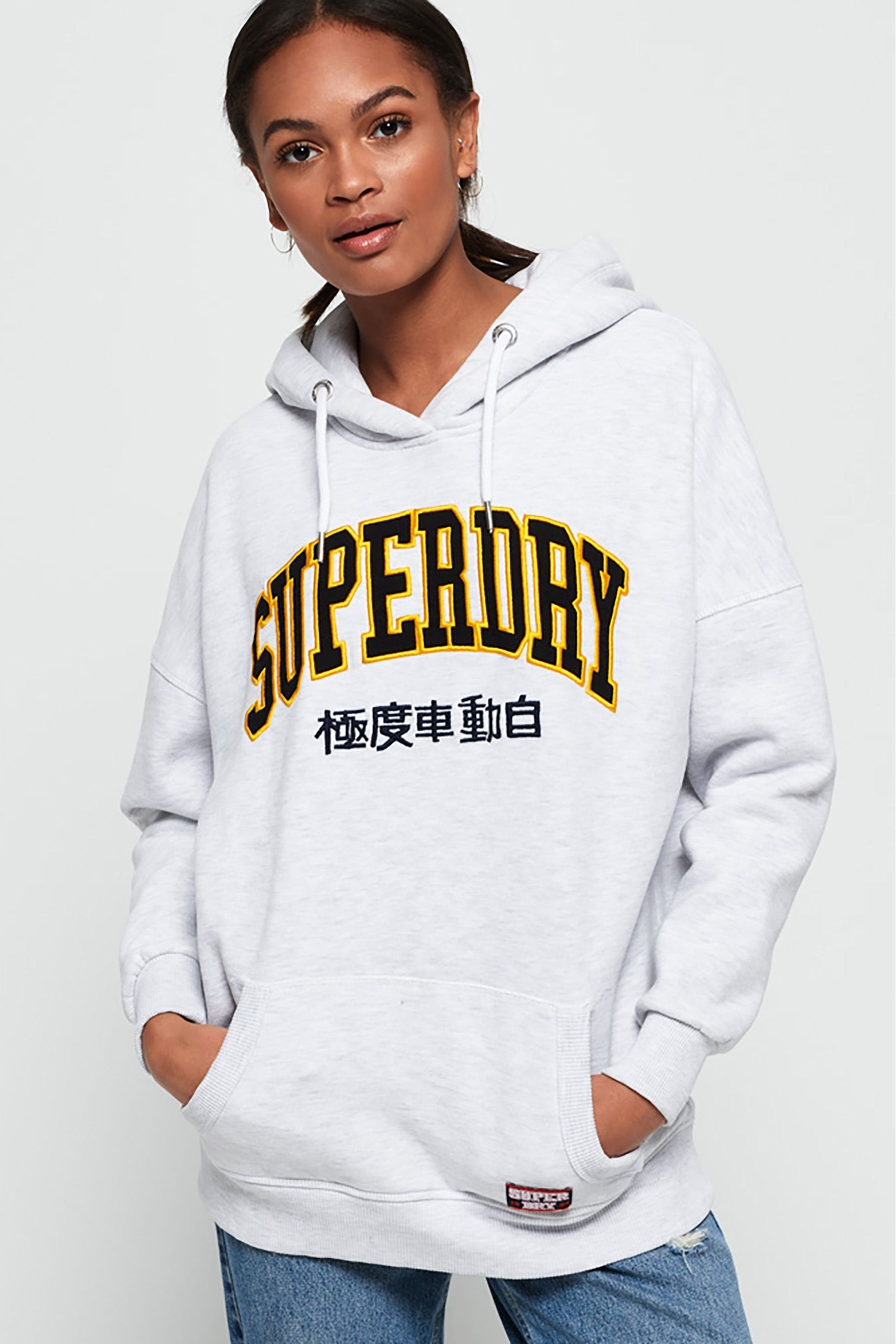 Superdry Sweat à capuche Blair Boyfriend Sweats à