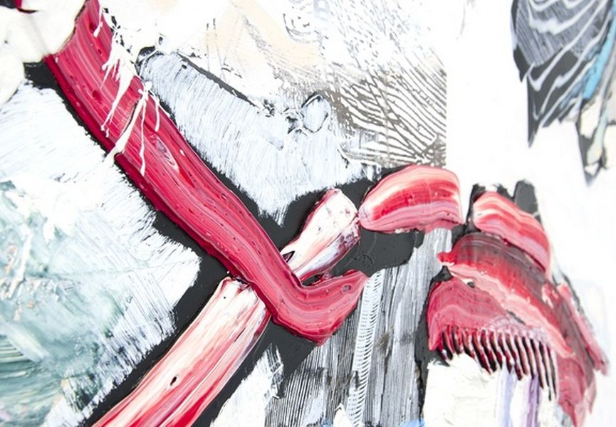 PIA FRIES - FRAGMENTS OF STEFANO DELLA BELLA http://www.widewalls.ch/pia-fries-reinterprets-stefano-della-bella-exhibition-christopher-grimes-gallery/ #exhibition #abstractpaintings #PiaFries #ChristopherGrimesGallery #StefanodellaBella #contemporary