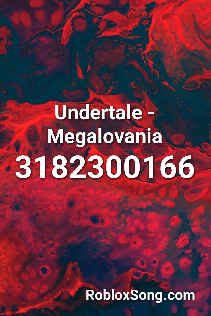 Undertale Megalovania Roblox Id Roblox Music Codes In 2020