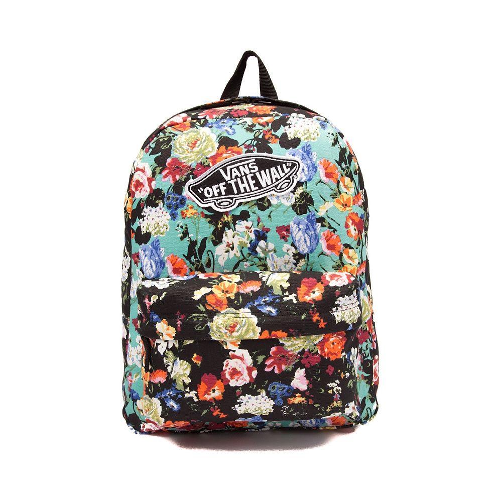 mochilas vans mujer flores