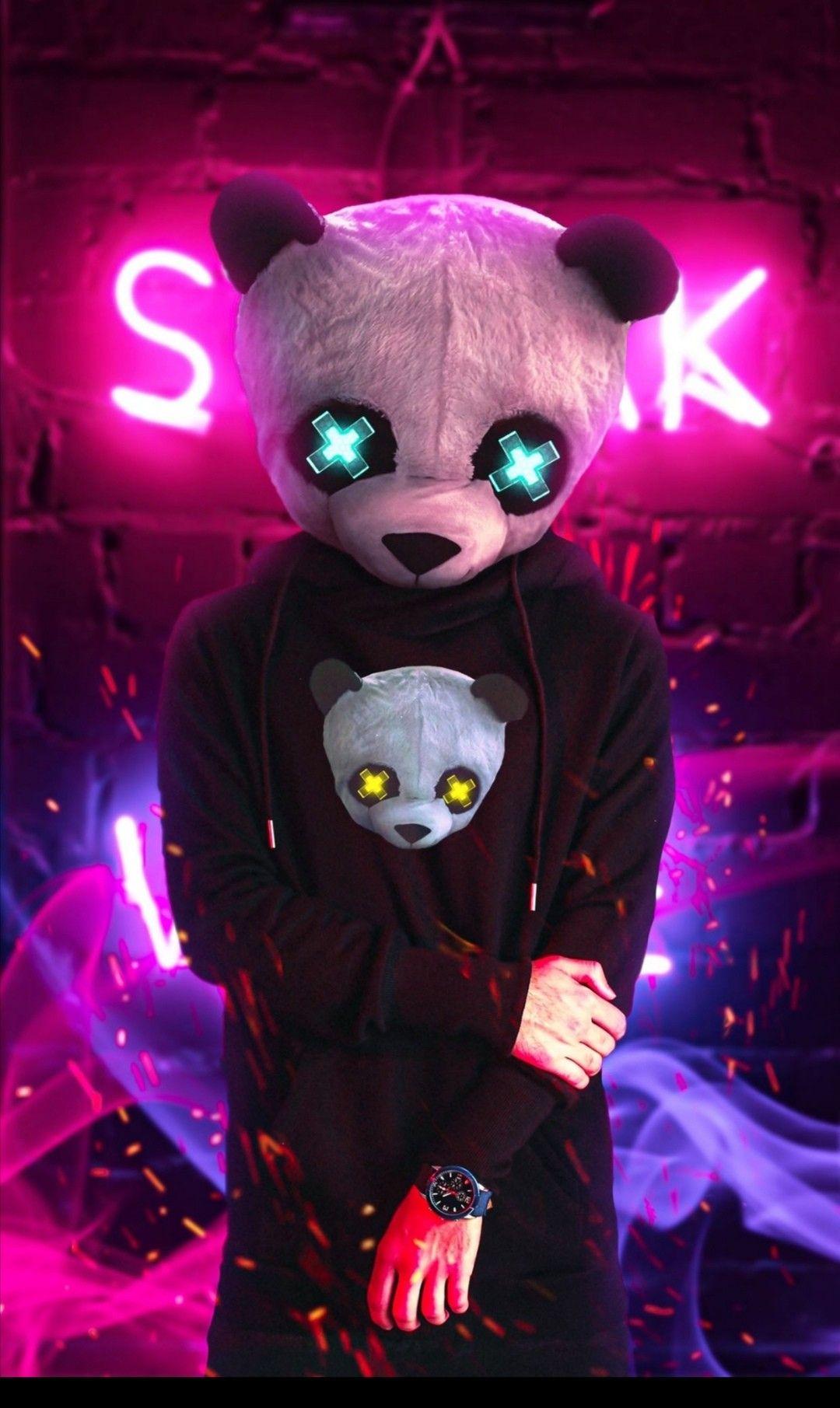 Pin by Rifqi on Boy in 2020 | Panda art, Wallpaper iphone ...