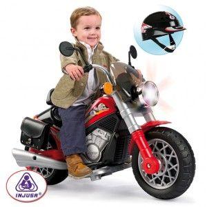 Moto custom infantil en http://www.tuverano.com/motos-electricas-infantiles/414-moto-custom-infantil.html