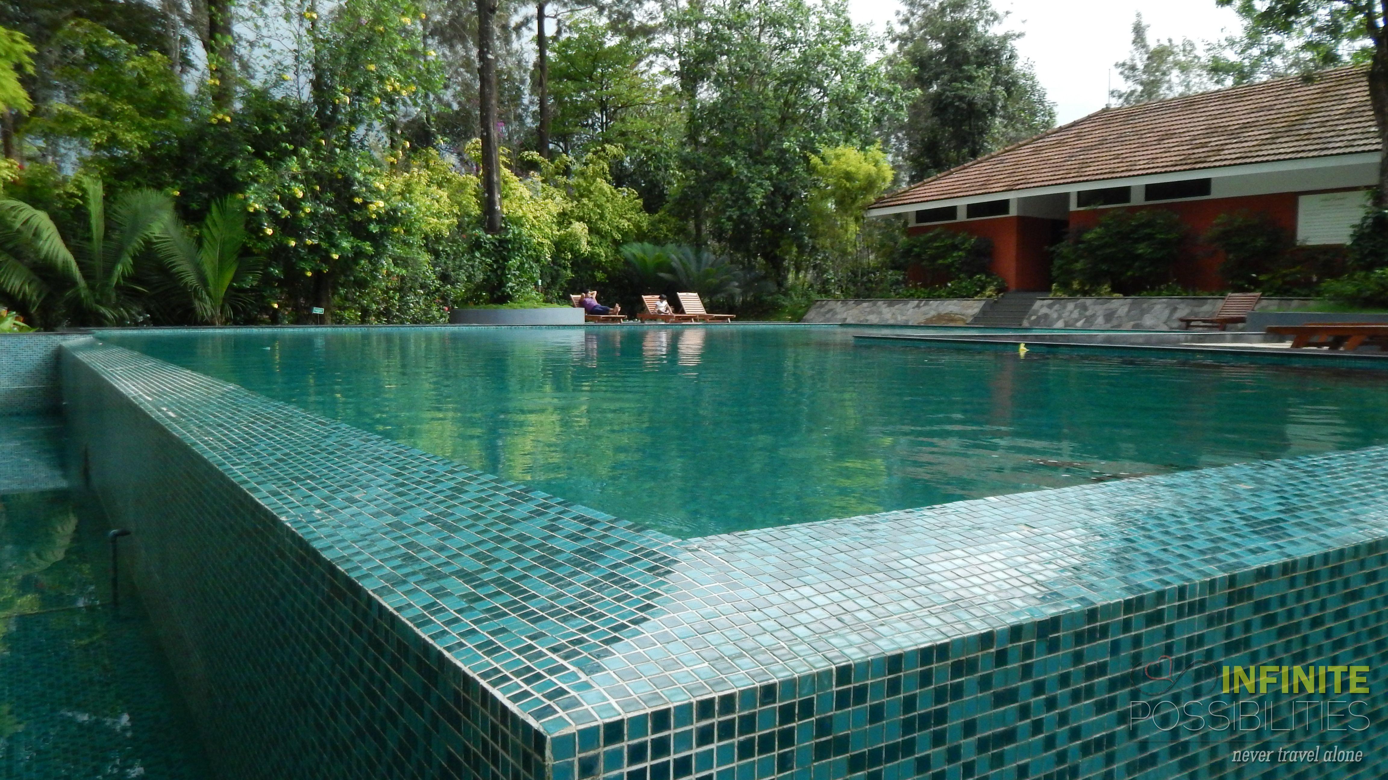Serene Swimming Pool At The Windflower Resort Vythiri Resort Spa Resort Swimming Pools