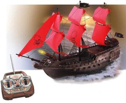 Nada Como Un Barco Pirata A Control Remoto Para Que Te Adueñes De Las Piscinas Engadget Barcos Piratas Paseo En Barco Control Remoto