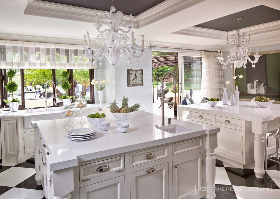 Kardashian Kitchens This Or That Kitchens Chandeliers