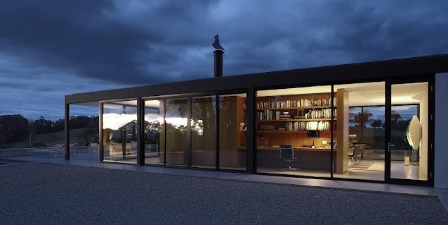 Estructura de hierro y vidrio casas pinterest - Estructuras de hierro para casas ...