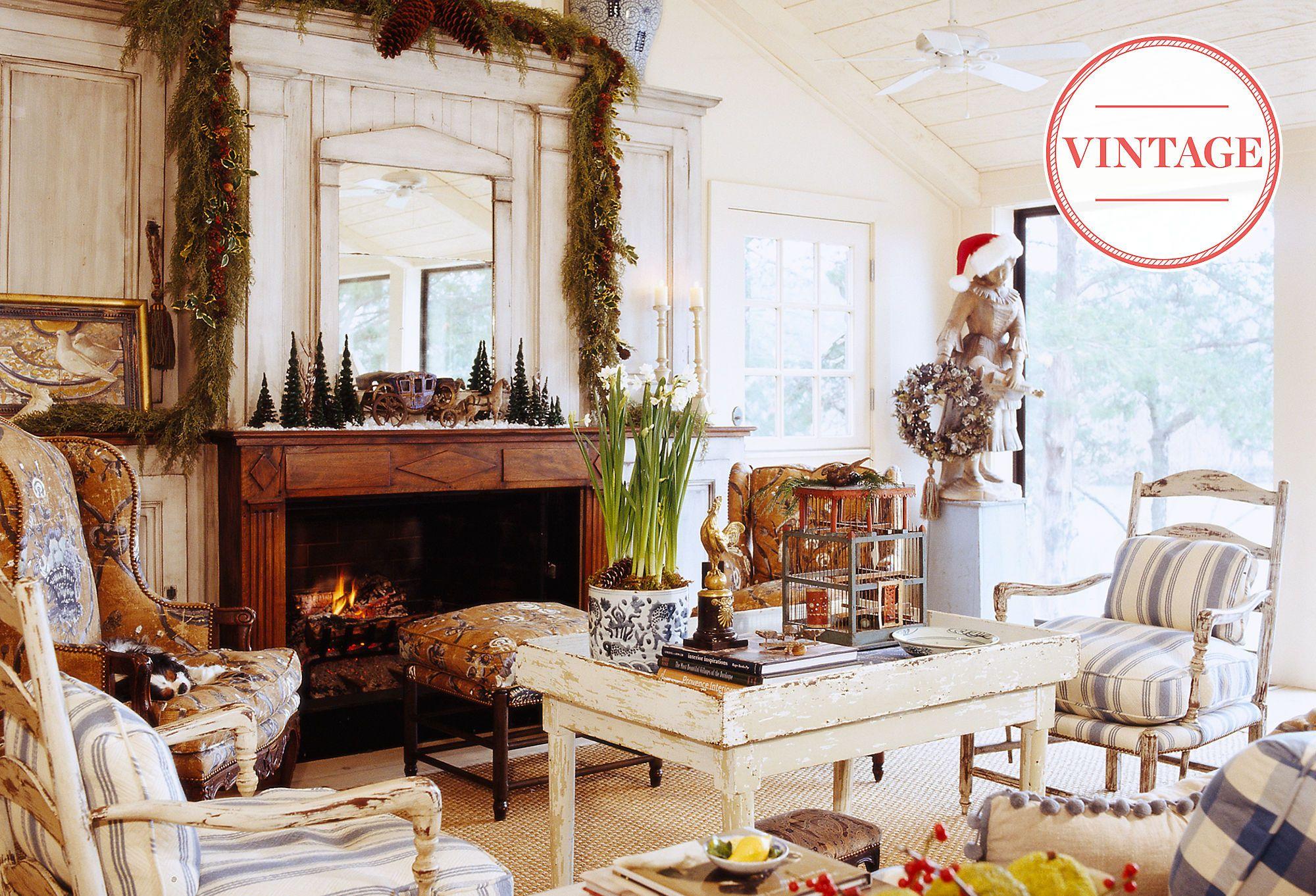Christmas in Provence Vintage Decor for a Joyeux No l