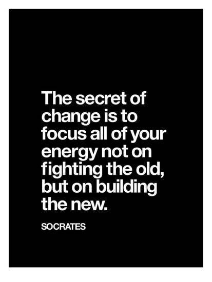 The Secret of Change Socrates Giclee Print by Brett Wilson