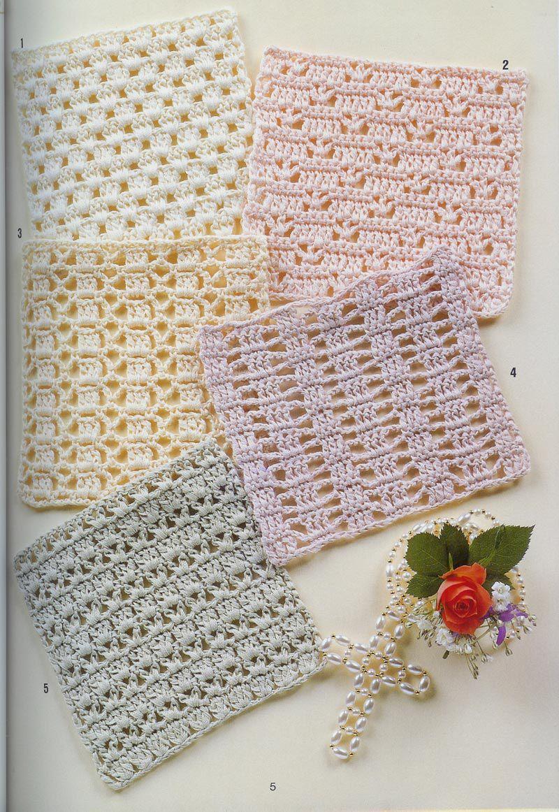Preferenza SOLO PUNTOS: Crochet puntos calados | tejidos | Pinterest  BA33