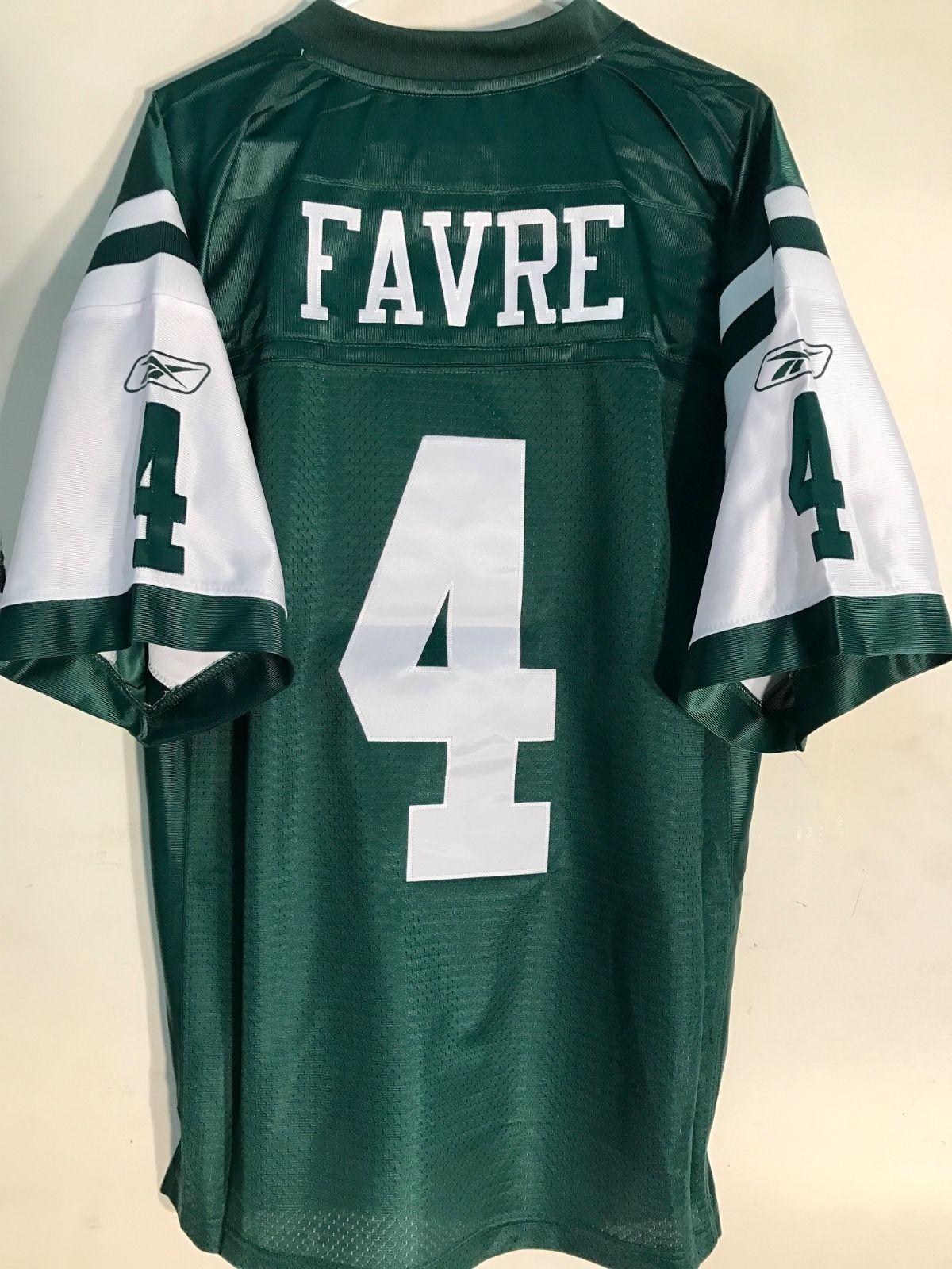 4d6a64d04c3 Details about Reebok Premier NFL Jersey New York Jets Brett Favre ...
