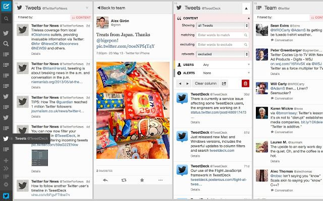 TweetDeck is by twitter that is your own personal browser