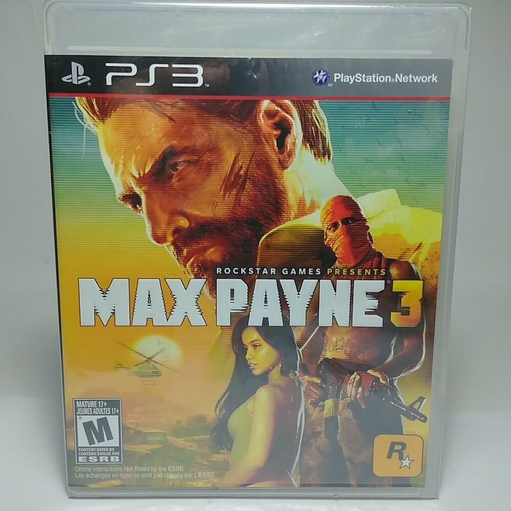 Max Payne 3 Playstation3 Ps3 2012 Game Ntsc U C New And Sealed