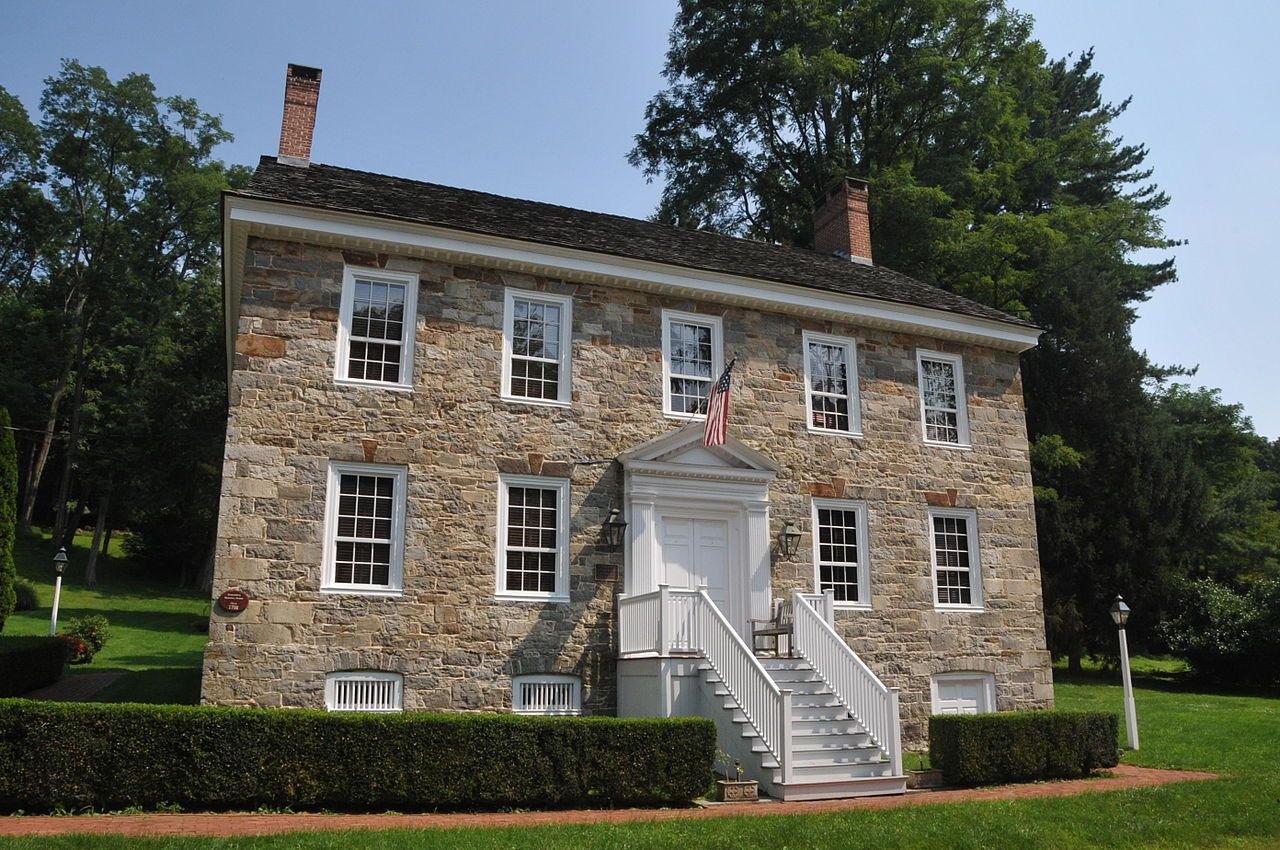 New Hampton Historic District in Hunterdon County, New Jersey.