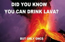 I would really lava hot drink