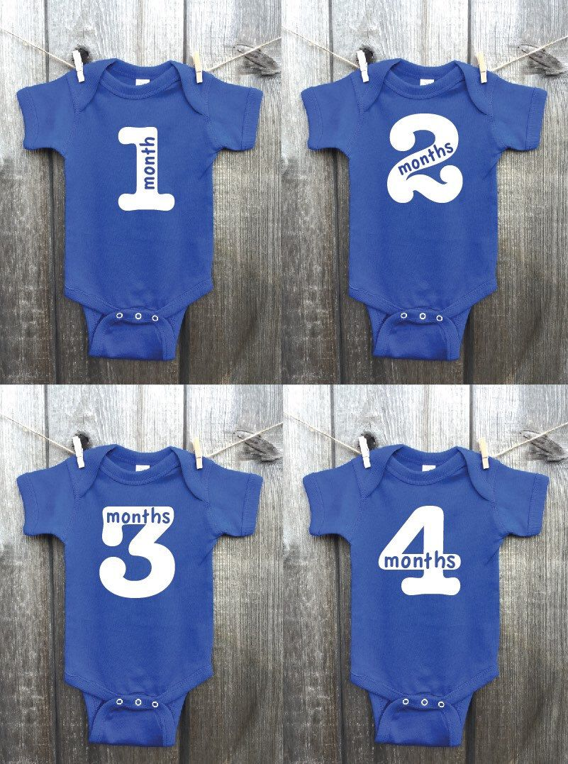 Twelve 12 monthly boy bodysuits monthly baby pictures custom twelve 12 monthly boy bodysuits monthly baby pictures custom printed outfits baby boy growth chart growth tracking outfits nvjuhfo Images