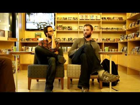 A/A/S interview, Iasi, Romania, May 2011. #armsandsleepers #interview #Iasi #Romania #music