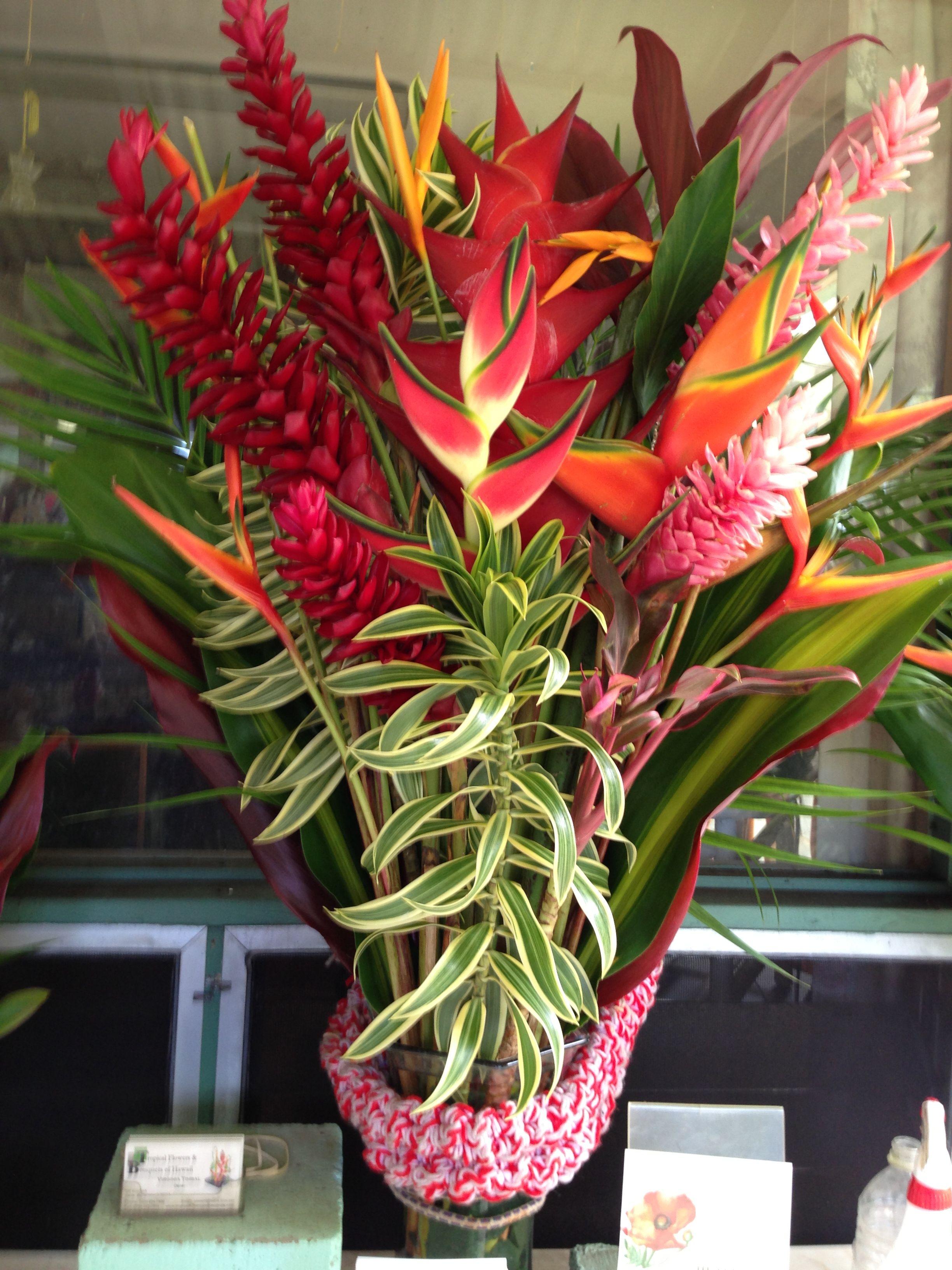 Beautiful Hawaiian Floral Arrangement Pinterest Floral