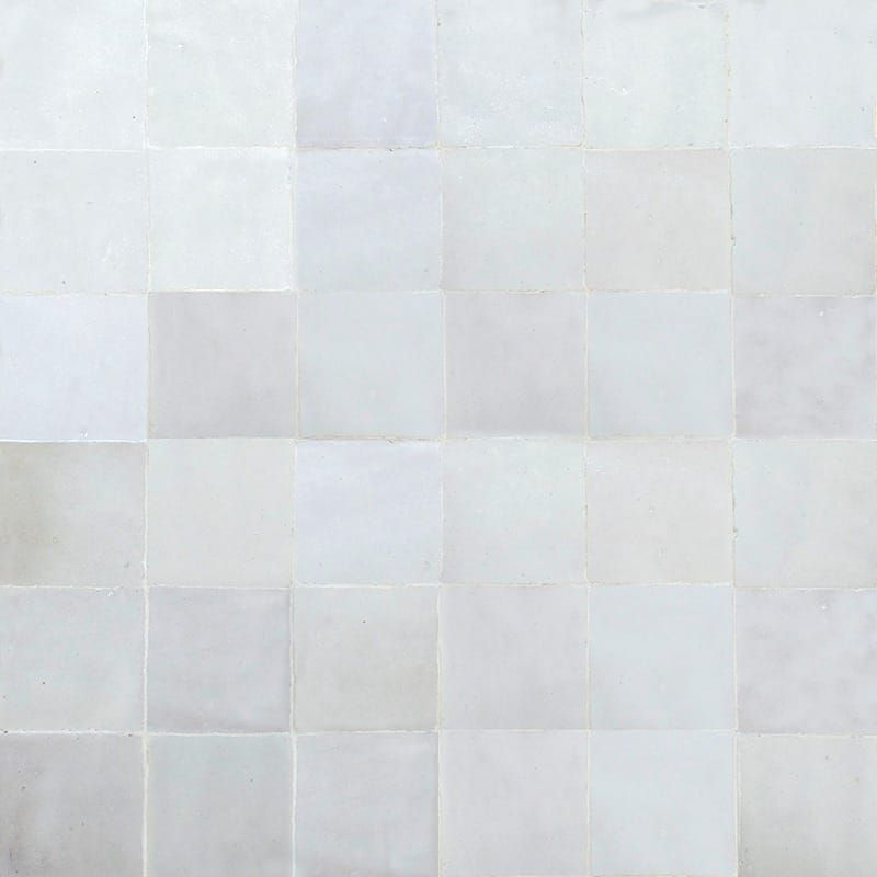 White Glossy Midan Zellige Ceramic Mosaics 11 3 4x11 3 4 Country Floors Of America Llc In 2020 Mosaic Ceramics Glossy