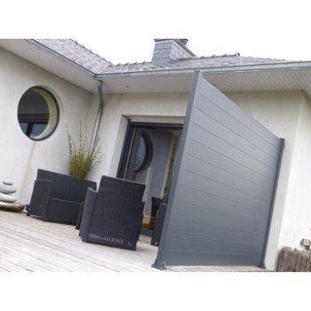 Lame Aluminium Klos Up Gris Zingue H 15 X L 145 Cm Maison Maisons Exterieures Exterieur