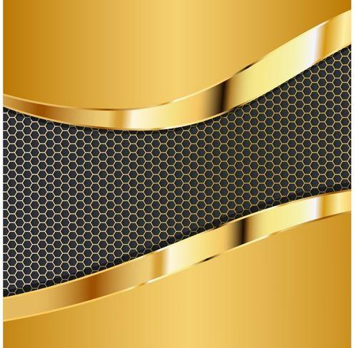honey b pattern gold background Backgrounds