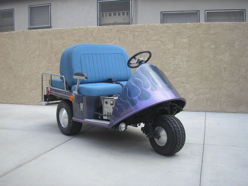 VINTAGE TAYLOR DUNN ELECTRIC GOLF CART | Vintage Golf | Pinterest ...