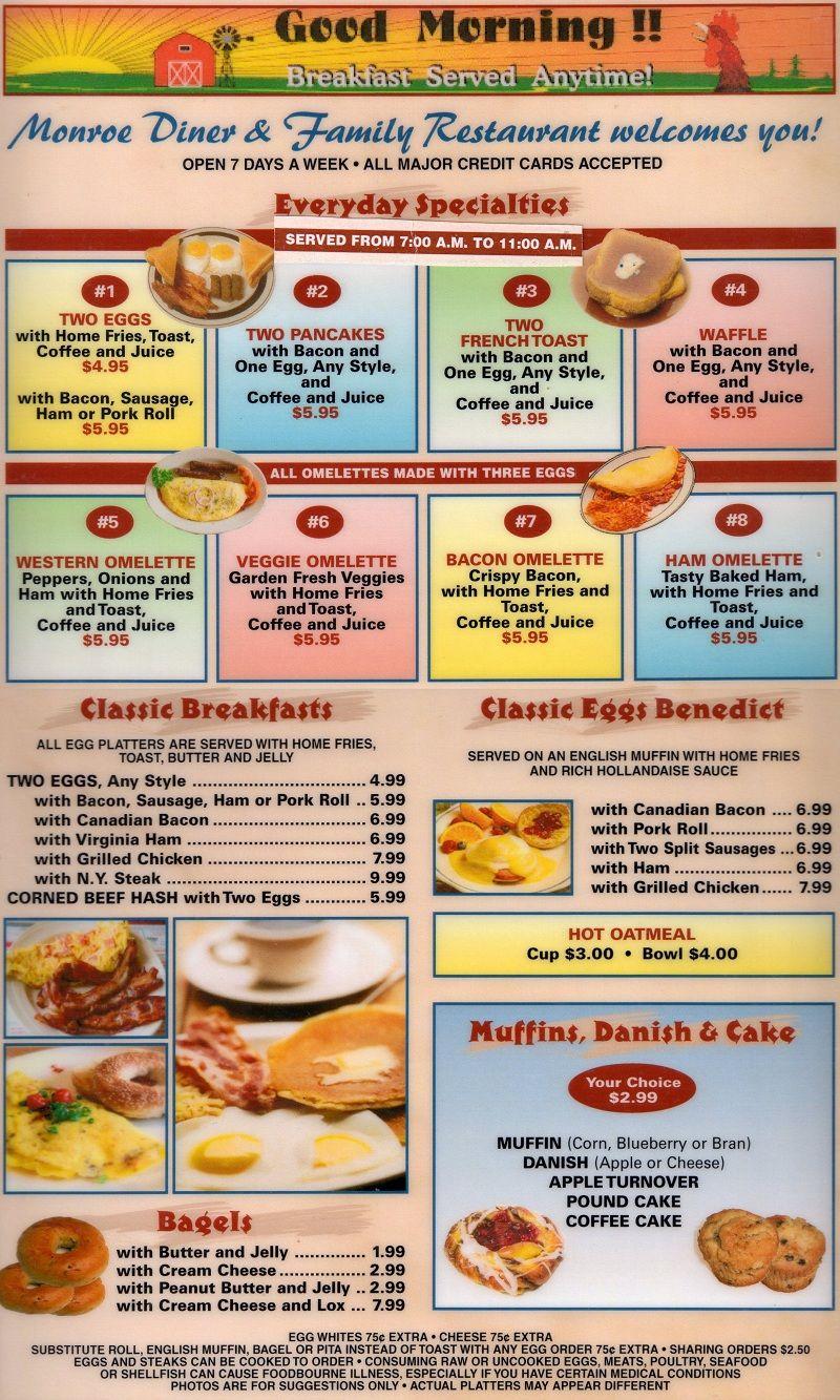 Esl Worksheets American Diners Monday Morning Worksheet Diner
