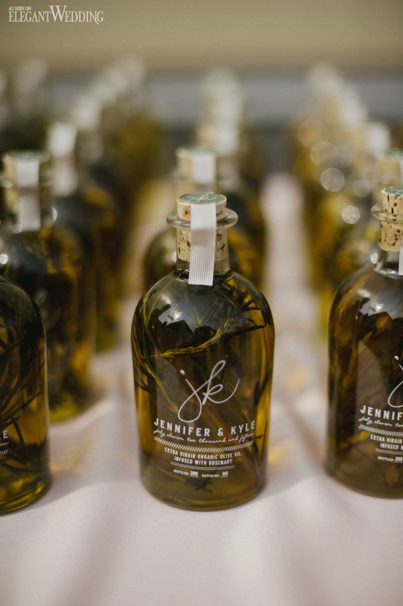 Olive Oil Wedding Favours Bottled Olive Oil Wedding Favor Whimsical