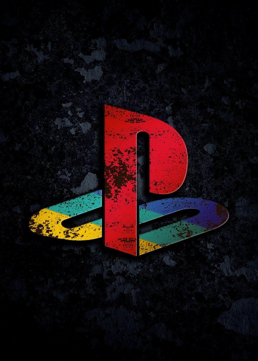 'Playstation 1 ' Poster Print by Everything Anime