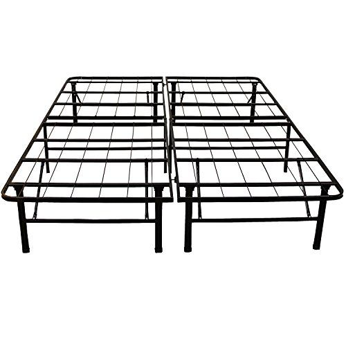Classic Brands Platform Metal Bed Frame Use As Box Spring Or