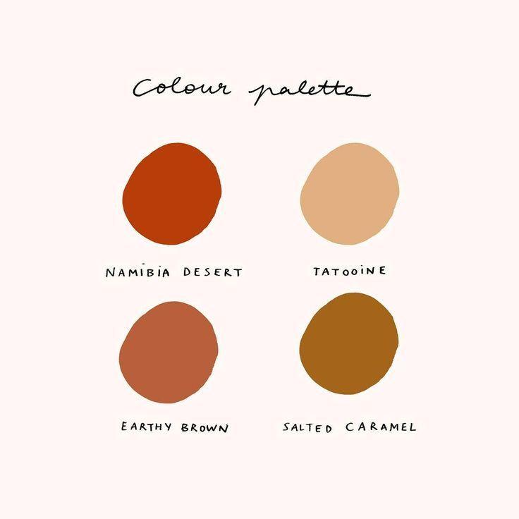 "Mélanie Johnsson on Instagram: ""Earthy colour palette �"""