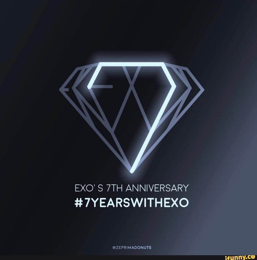 Exo S 7th Anniversary 7yearswithexo Exo Exo Logo Exo Baekhyun