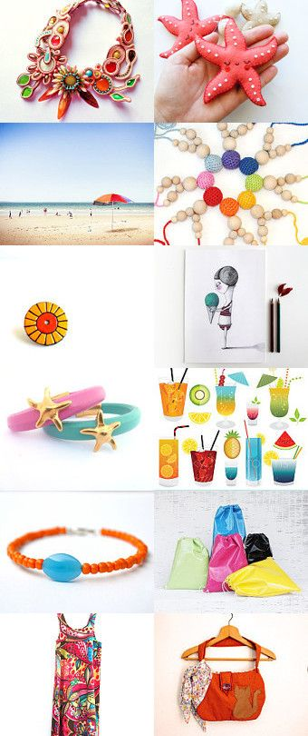 Summer time! Colors time! by Serené Romano on Etsy--Pinned with TreasuryPin.com