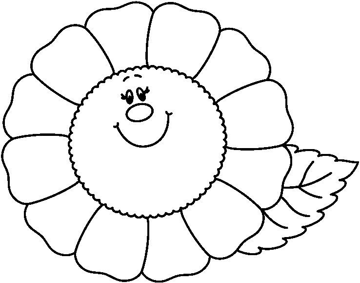 dibujos para colorear: Las flores | FLORES | Pinterest | Colorear ...