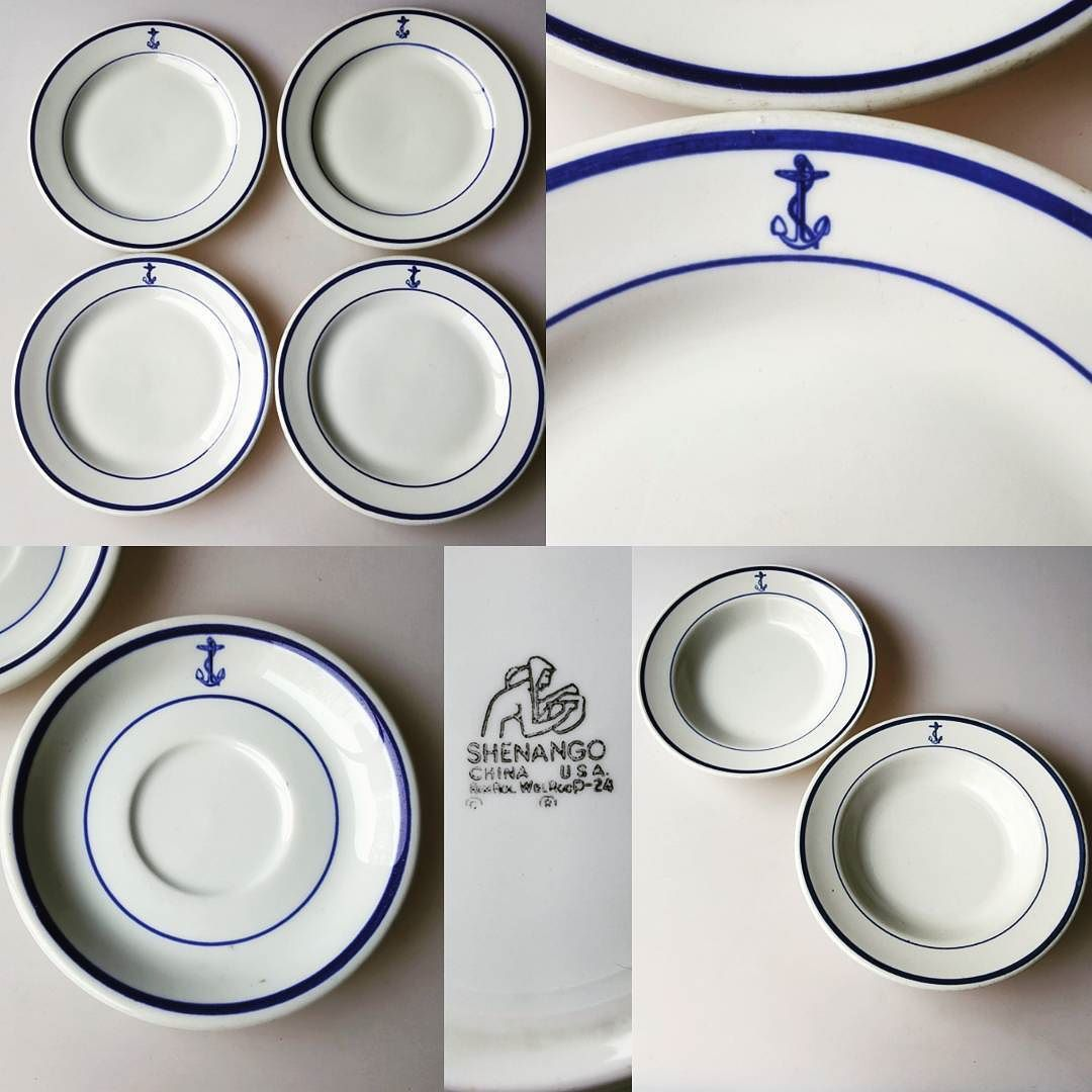 Several lots of this cool old US Navy mess hall china still left at my eBay  sc 1 st  Pinterest : us navy china dinnerware - pezcame.com