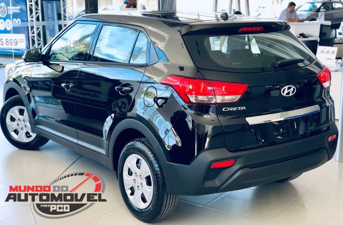 Hyundai Creta Attitude 1 6 At 2019 Para Pcd Fotos Preco E