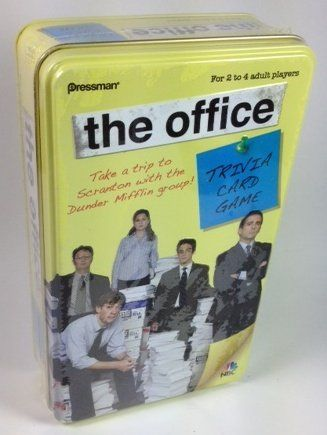 the office trivia card game original edition 41 lol i got the sequel for 1 at the dav