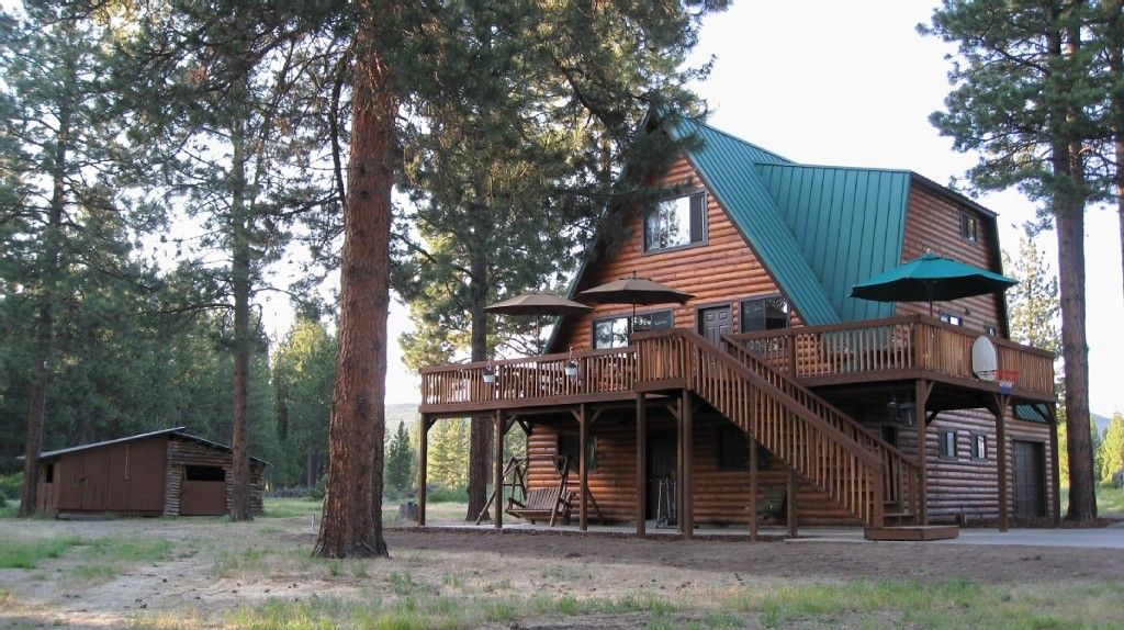 Cabin vacation rental in klamath falls from