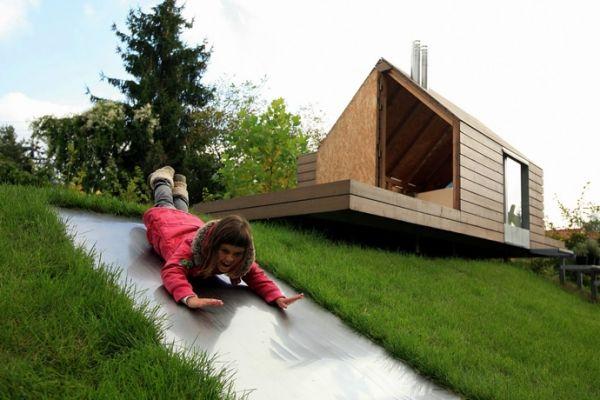 Kinder spiel gartenhaus aus holz garden outdoor for Wohnideen minimalisti