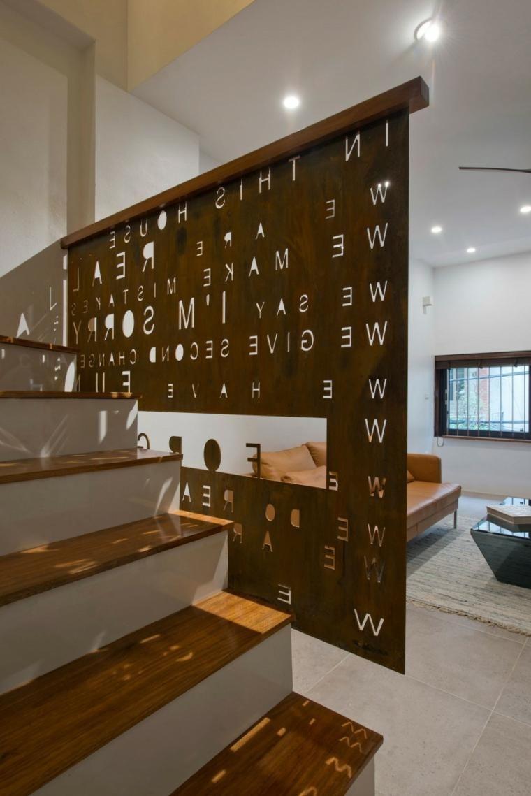 Wohnmöbel des natürlichen Designs im modernen Haus | Möbel ...