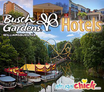 Busch Gardens Williamsburg Hotels. Virginia ...