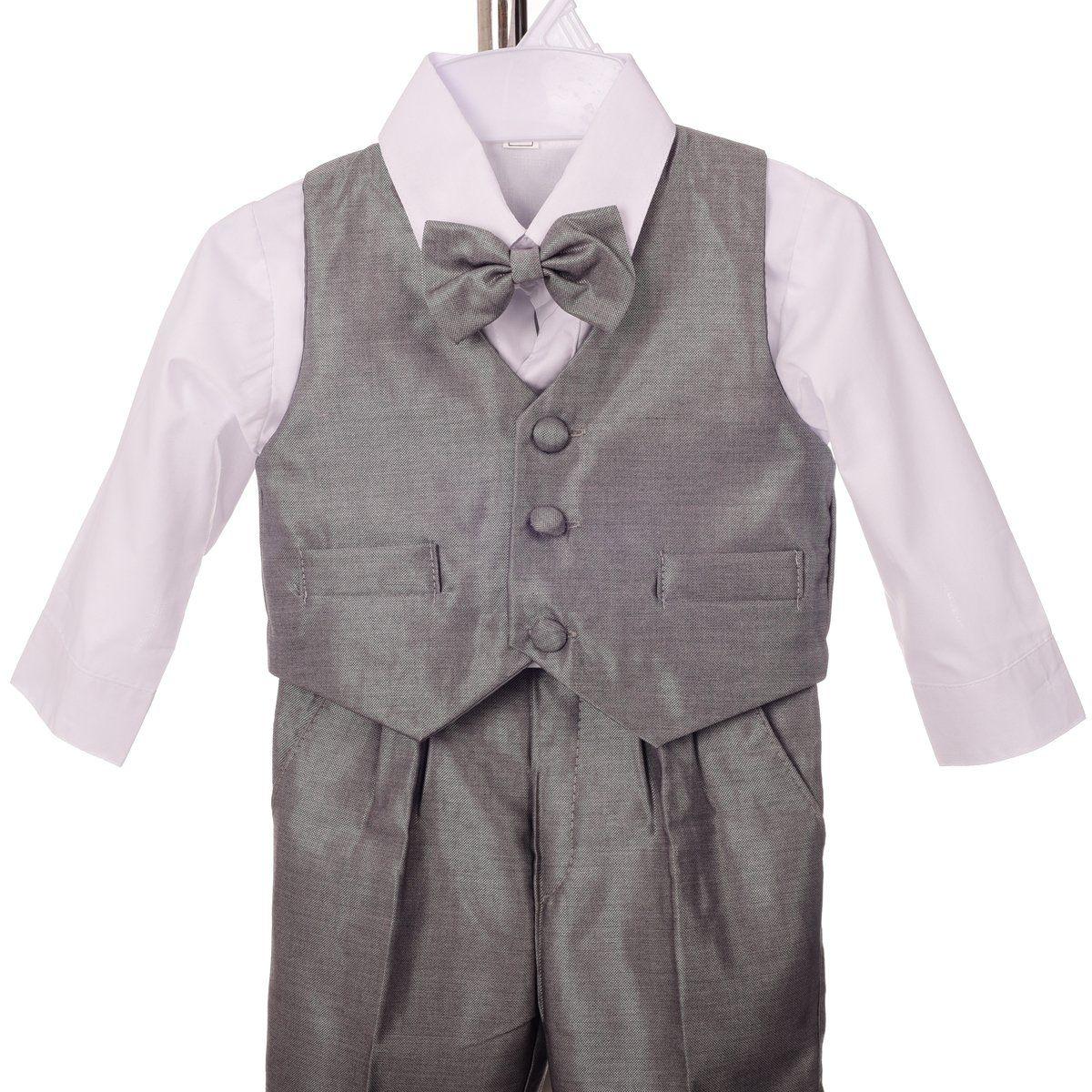 Joey Couture Little Boys Little Tuxedo No Tail Suit