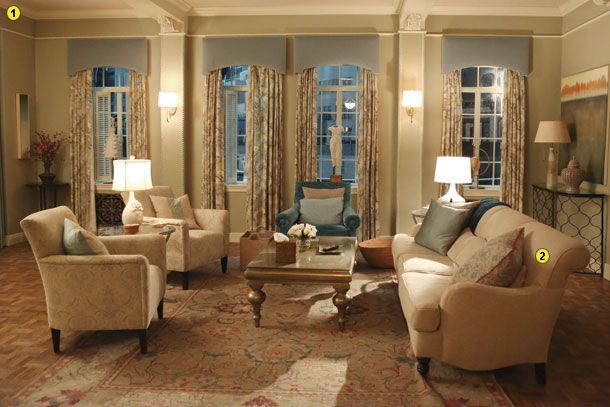 Home Tour: The Set Of ABC's Scandal