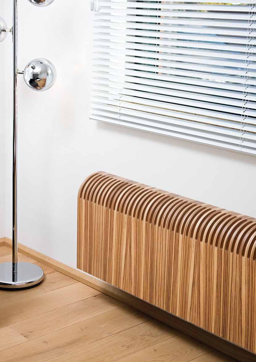 Jaga Knockonwood Wandmodell   Der Erste Heizkörper Der Durch Wahl Des  Holzfurniers Perfekt Zum Holzboden Passt